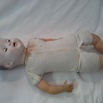 22 inch doll cloth body