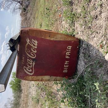 Coke machine  - Coca-Cola