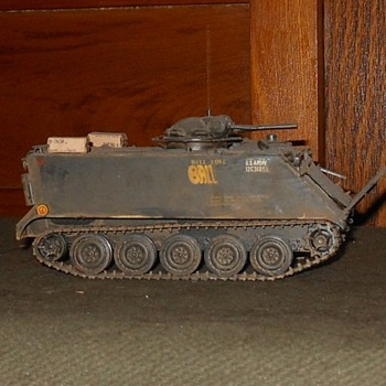 M132 Armored Flame Thrower Model 1/35th Scale Vietnam Era - Military and Wartime
