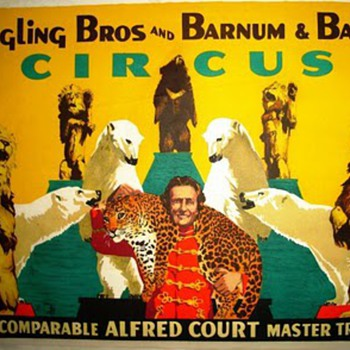 Ringling Bros and Barnum & Bel Geddes - Posters and Prints