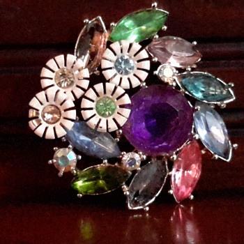 1950s brooch - Costume Jewelry
