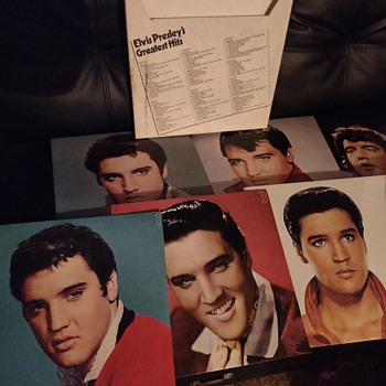 Elvis Presley Greatest Hits 1 to 6 - Records