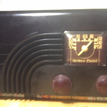 "Northern Electric "" Baby Champ"" Radio"