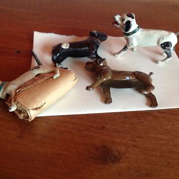 Metal Dog Holders - Animals