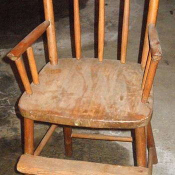 Antique High Chair - Furniture