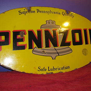 The Rare 1920s Pennzoil Lollipop