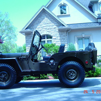 My 1952 Willys/Ford M38 - Military and Wartime