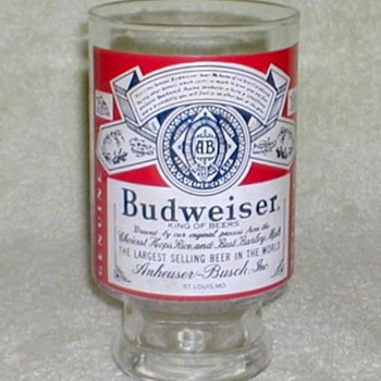Budweiser Beer Glass - 32 oz.