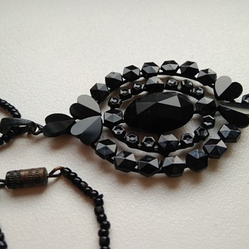 Victorian pendant by Gebruder Feix of Albrechtice ? - Costume Jewelry