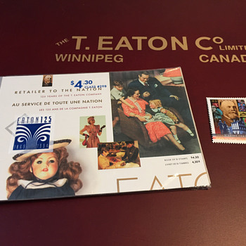 The T. EATON Co Limited, Winnipeg EATON 125 Stamps