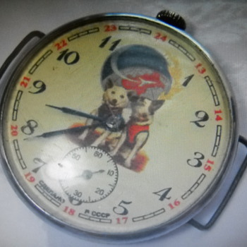 My Soviet Union Space Dog vintage Watch - Wristwatches