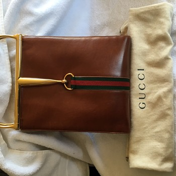 Vintage Gucci Snaffle Bit Bag Circa 1960s  - Bags
