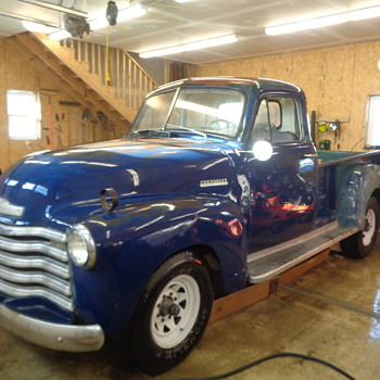 1951 Chevy 5 window Pickup Truck - Classic Cars