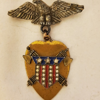 Unknown Medal - US Civil War? - Costume Jewelry