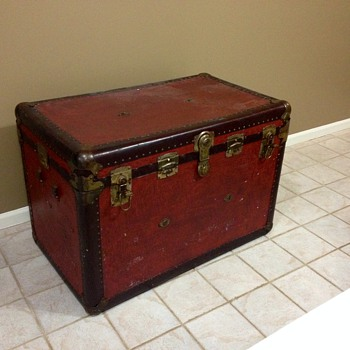 Flat Top Trunk - Furniture