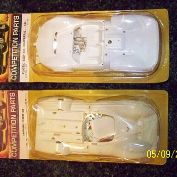 Cox Chaparral and Chaparral 2E Body Kits - Model Cars