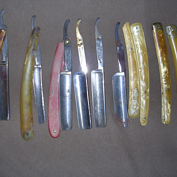 Collection of old Razors