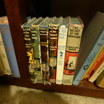 Small Collection of 1930's Nancy Drew Books