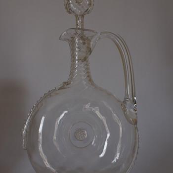 Whitefriars Claret Jug - Art Glass