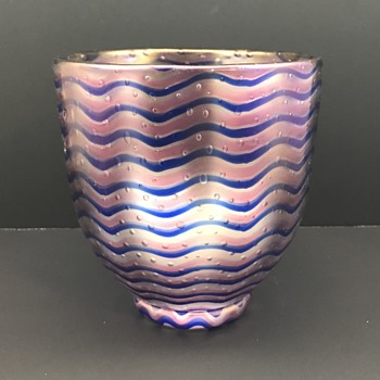 Late period Loetz Vase, ca. 1935 - Art Glass