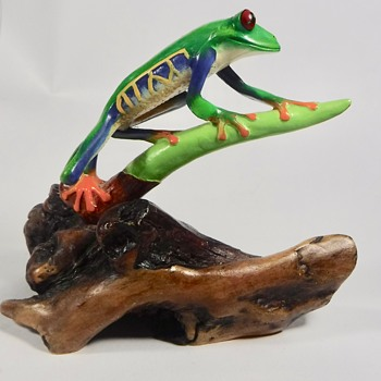 John Perry Red Eyed Tree Frog - Animals