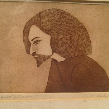 Rare Rubin Etching? - Posters and Prints