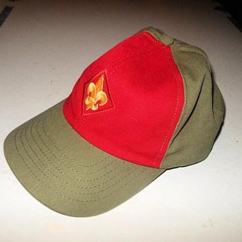 1980s Boy Scout Hat Oscar de la Renta Design - Sporting Goods