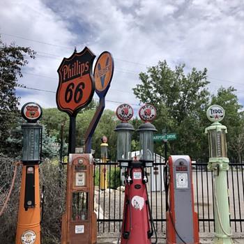 Favorite gas pumps - Petroliana
