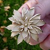 Trifari Flower Brooch