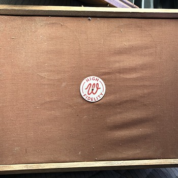 Wurlitzer auxiliary speaker model 5115. 500 ohms - Coin Operated