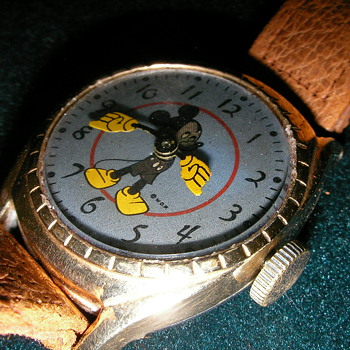 1949 Birthday Series Mickey Mouse Deluxe  - Wristwatches