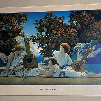 Maxfield Parrish's Lute Players - Fine Art