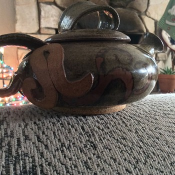 One cup teapot unique and interesting - Pottery