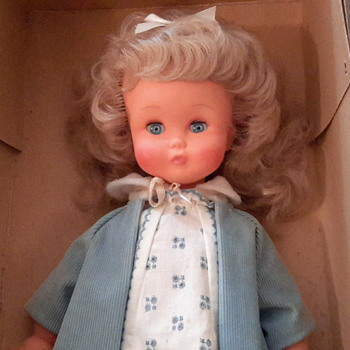 1960 French Coucou doll by Clodrey