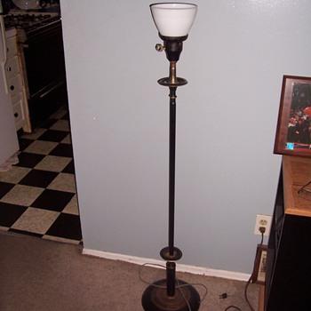 old floor lamp - Lamps