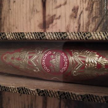 Boxed single cigar - Tobacciana
