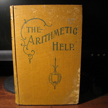 The Arithmetic Help 1903 - Books