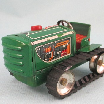 Crawler Tractor  - Model Cars