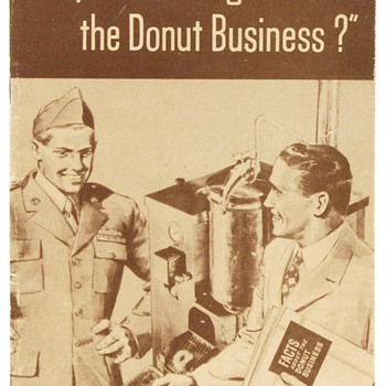 Post WWII Donut Machine and Display - Paper