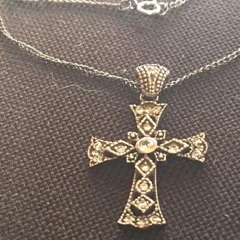 Antique silver pendant  - Fine Jewelry