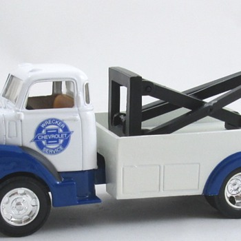 1950 Chevy COE Wrecker - Model Cars