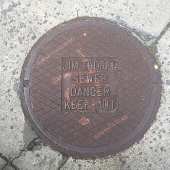 Manhole Cover Jim Thorpe, PA.....October 09, 2021 - Tools and Hardware