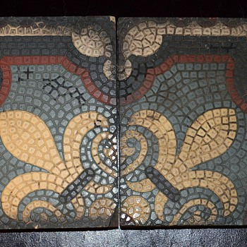 Interesting Old Tiles i found - any info? - Pottery