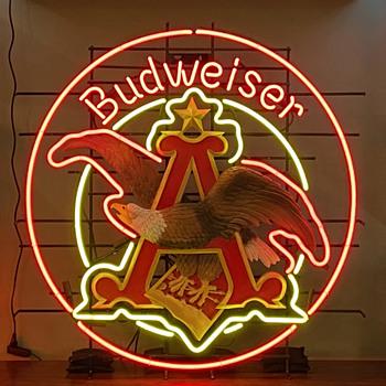 Budweiser Prototype Sign  - Breweriana