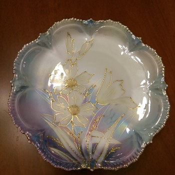 RS Prussia concerned about smudged Maker's Mark - China and Dinnerware