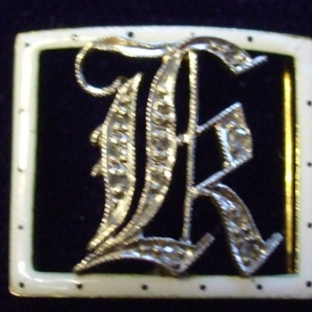 Need Help Decifering This Gold & Diamond & Enamel Whatsit!! - Fine Jewelry
