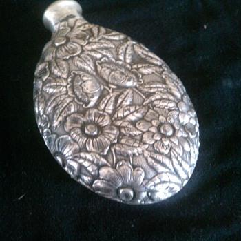 Silver Liquor Flask - Bottles