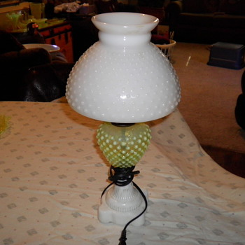 my hurricane lamp,and few other favotite pieces - Lamps