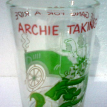 Archie Comics Glass - Glassware