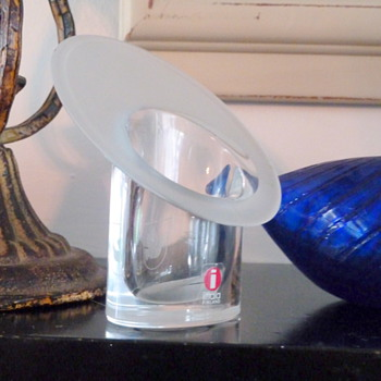 Pair of mystery Iittala candle holders? - Art Glass